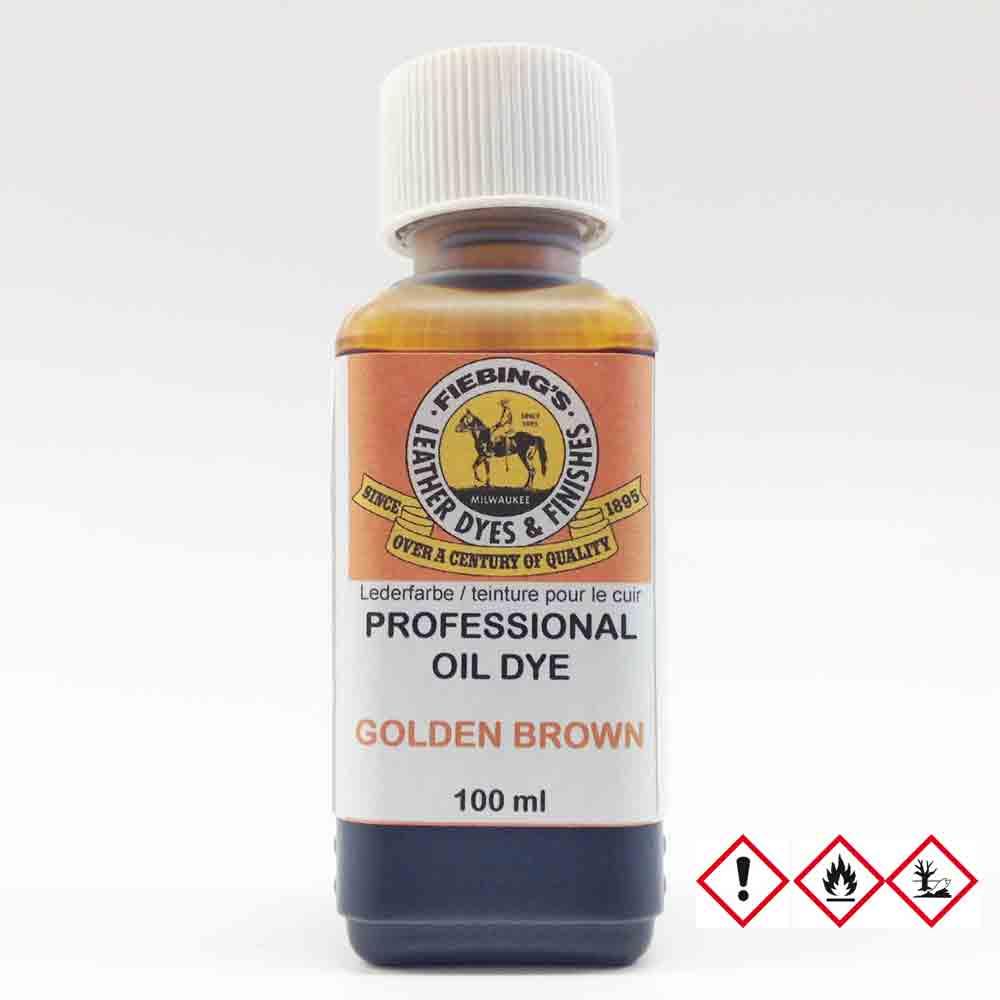 c2ba763e1cdf09 Fiebing s Professional Oil Dye GOLDEN BROWN 100 ml