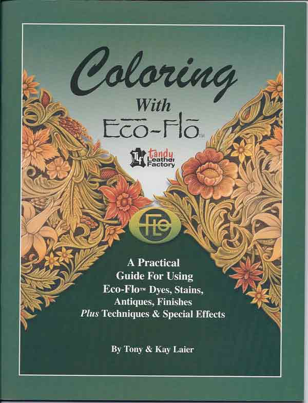 Coloring With Eco-Flo by Tony & Kay Laier, 40 pages, color